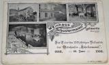 Litoměřice (Leitmeritz): Weinhaus Schustermannl 1906