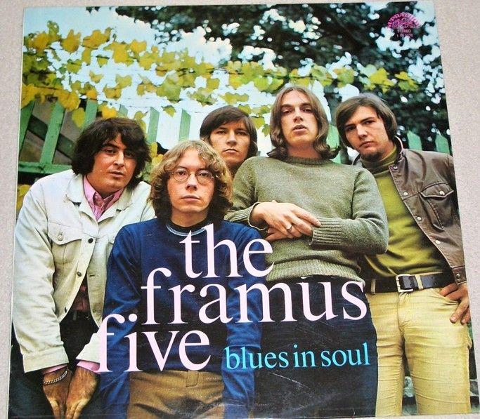 LP The Framus Five: Blues in Soul