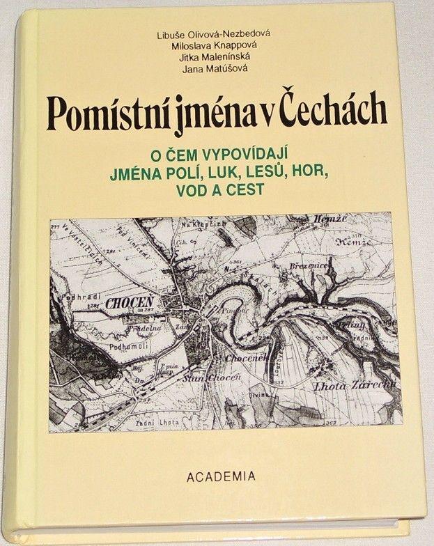 Olivová-Nezbedová, Knappová - Pomístní jména v Čechách