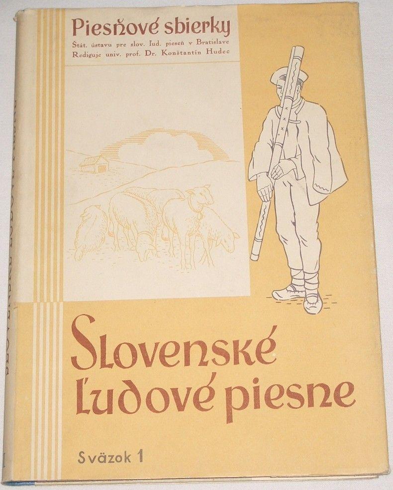 Slovenské ludové piesne 1