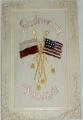 Pozdrav z Ameriky (Pozdrowienie z Ameriki): vyšívaný vzor, tlačený reliéf