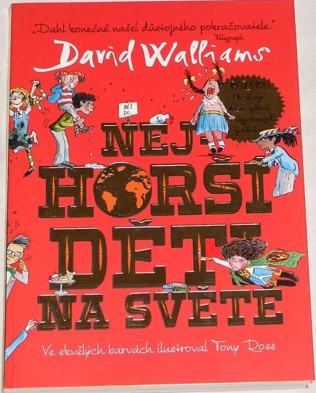 Walliams David - Nejhorší děti na světě