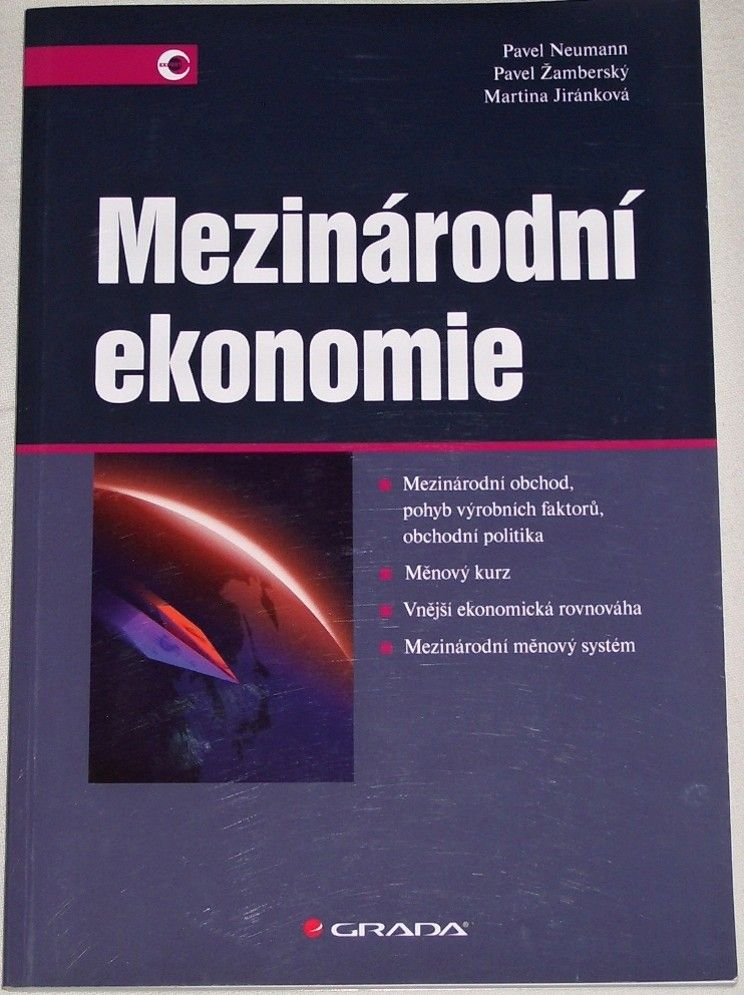 Neumann, Žamberský, Jiránková - Mezinárodní ekonomie