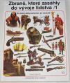 Segrelles Vicente - Zbraně, které zasáhly do vývoje lidstva 1