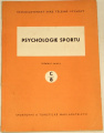 Stránský Antonín - Psychologie sportu