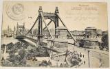 Maďarsko  Budapešť: Alžbětin most (Elisabet-Brücke) 1918