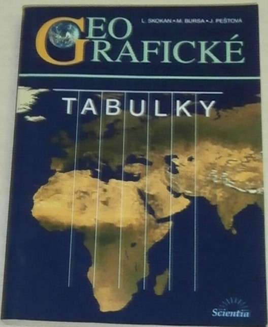 Skokan, Bursa, Peštová - Geografické tabulky