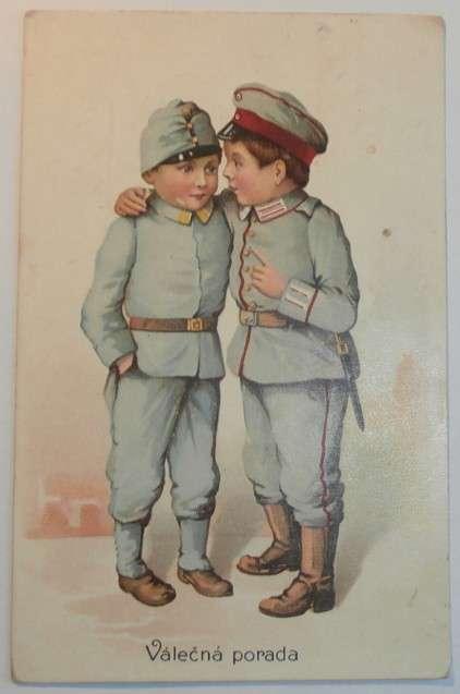 Válečná porada, cca 1911