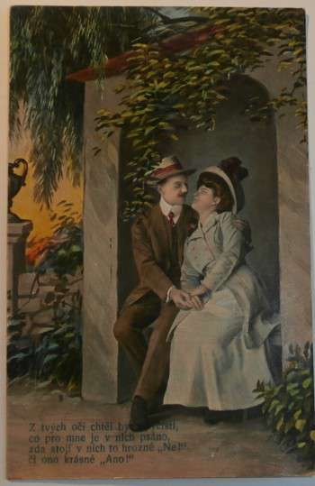 Zamilovaný pár, 20tá léta, 1920