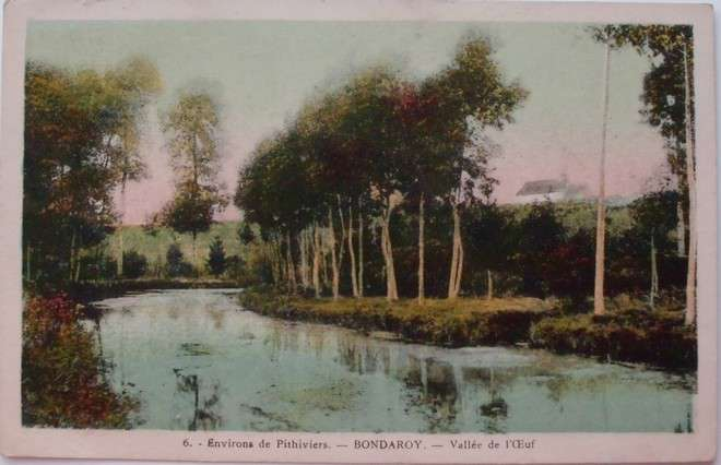 Bondaroy - Environs de Pithiviers - Vallée de l´CEuf, Francie