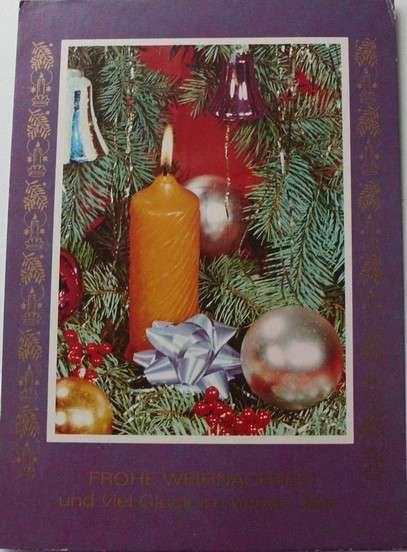 Frohe Weihnachten und viel Glück im neuen Jahr