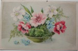 Mísa s květinami