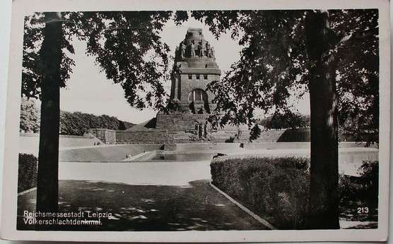 Reichsmessestadt Leipzig - Völkerschlachtdenkmal