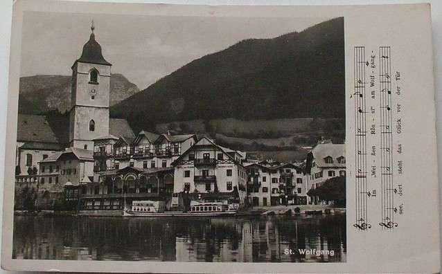 Rakousko - St. Wolfgang 1949