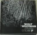 Whitman Walt - Zpívám o sobě