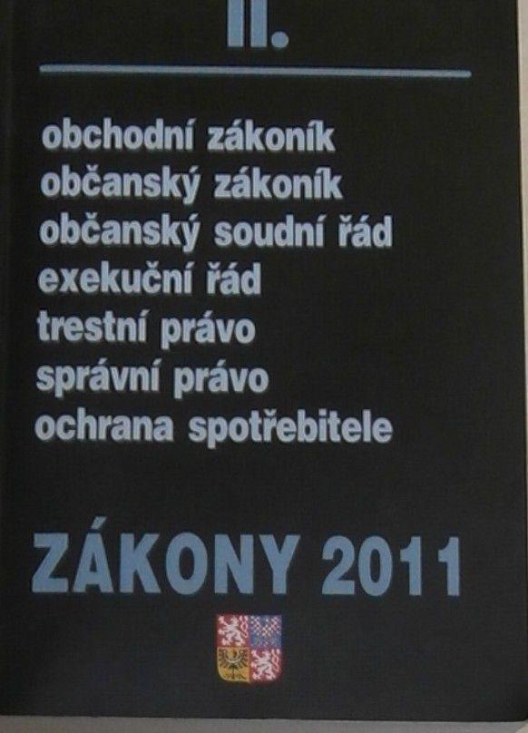 Zákony 2011 II.