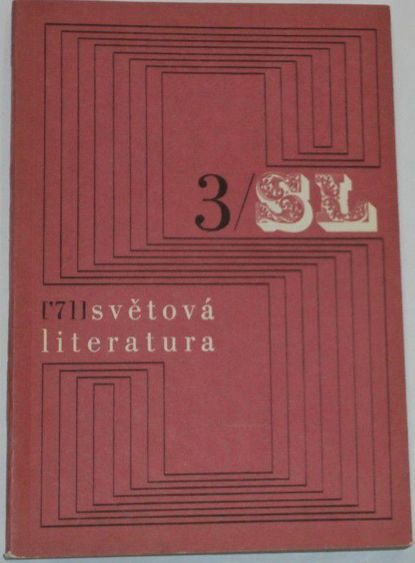 Světová literatura 1971 / 3