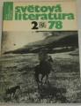 Světová literatura  2/78
