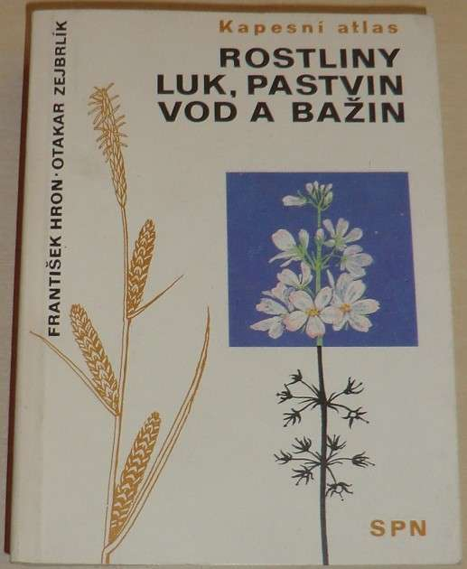Hron, Zejbrlík - Rostliny luk, pastvin, vod a bažin