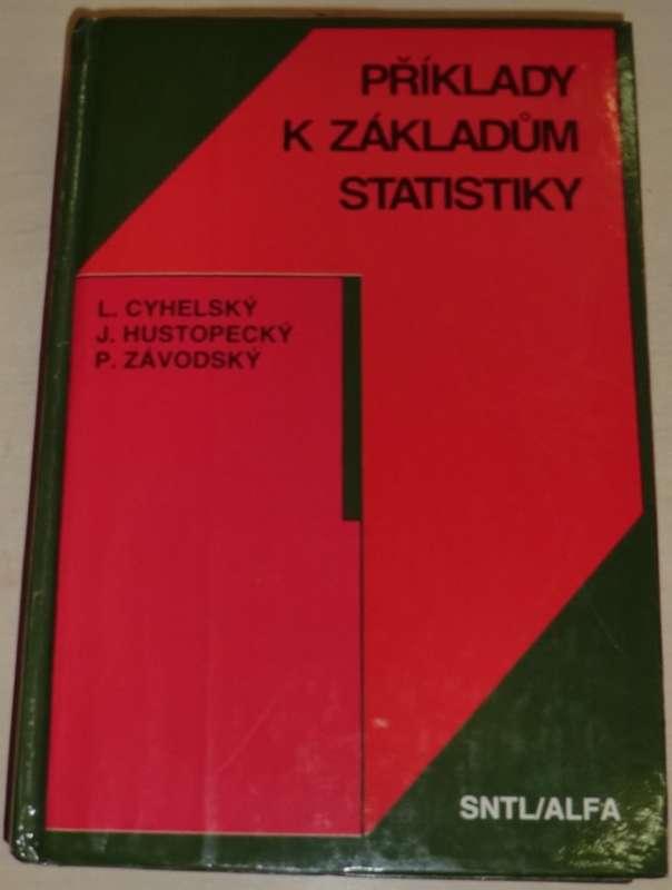 Cihelský, Hustopecký - Příklady k základům statistiky