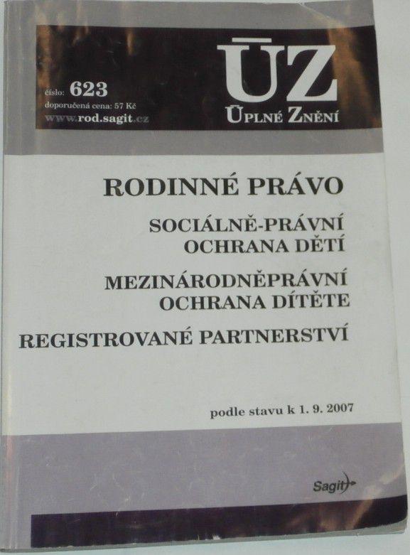 Rodinné právo / podle stavu k 1.9.2007/ úplné znění