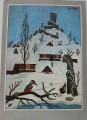 Ladovská zima - Josef Lada