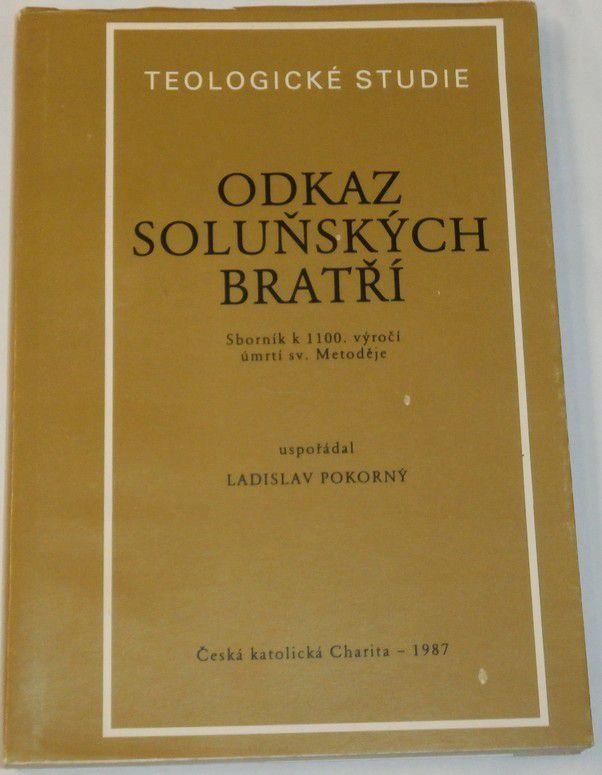 Teologické studie - Odkaz Soluňských bratří