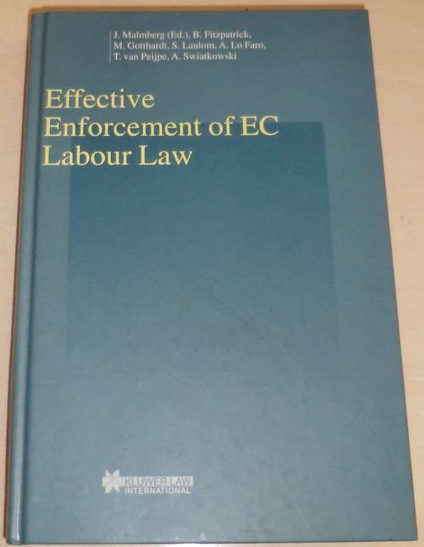 Effective Enforcement of EC Labour Law