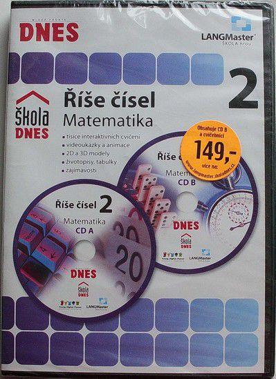 DVD Říše čísel 2 - Matematika - vzdělávací pro děti