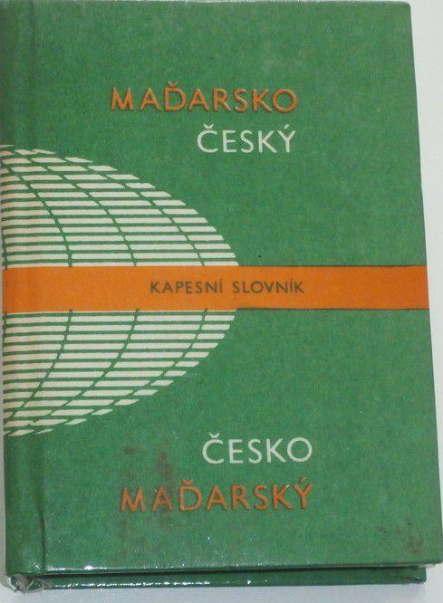 Hradský, Blaskovics - Maďarsko-český a česko-maďarský kapesní slovník