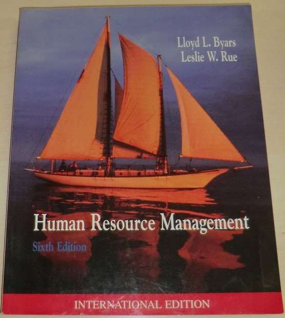Byars, Rue - Human Resource Management