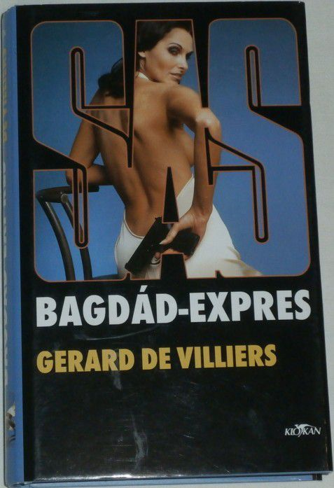 Villiers Gerard de - Bagdád-expres