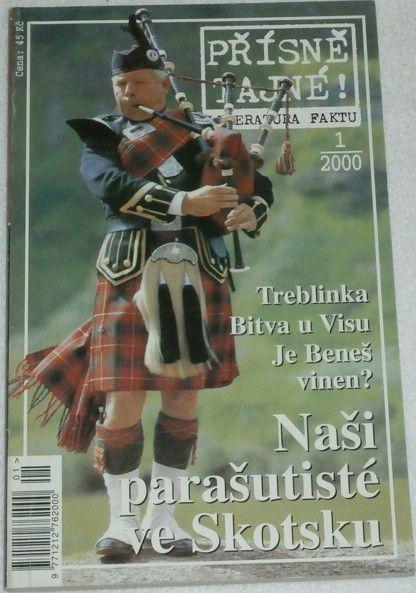 Přísně tajné! 1/2000 Naši parašutisté ve Skotsku a další