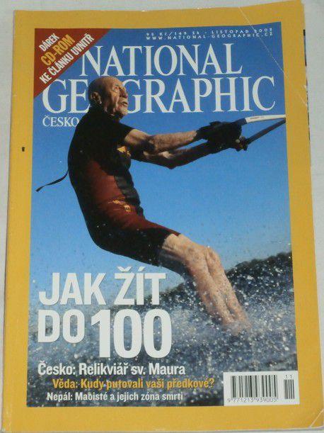 National Geographic - listopad 2005