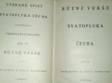 Čech Svatopluk - Různé verše