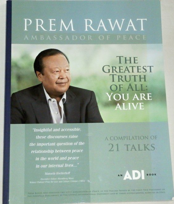 Rawat Prem - The greatest truth: You are alive