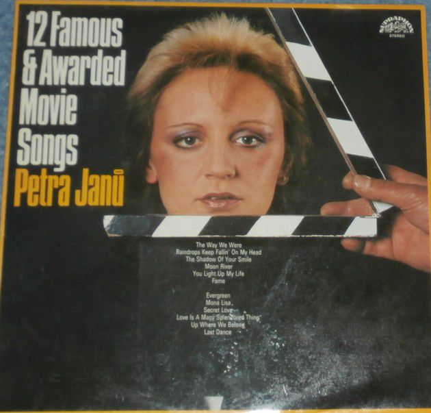 LP Petra Janů 12 Famous & Awarded Movie Songs
