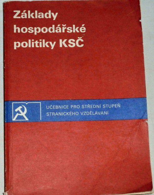 Základy hospodářské politiky KSČ