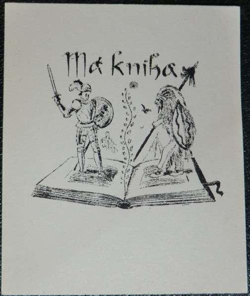 Ex libris do vaší knihy
