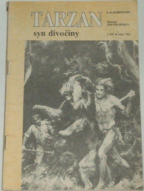 Burroughs Edgar Rice - Tarzan syn divočiny / 1. díl/