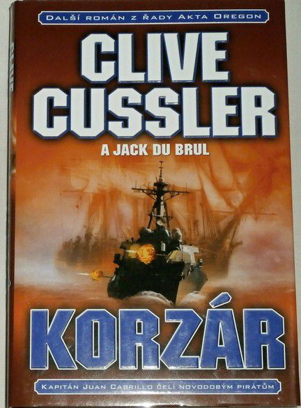 Cussler Clive - Korzár