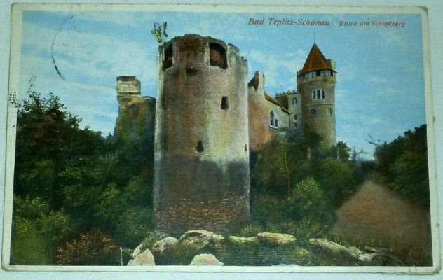 Bad Teplitz-Schönau, Ruine Am Schlossberg