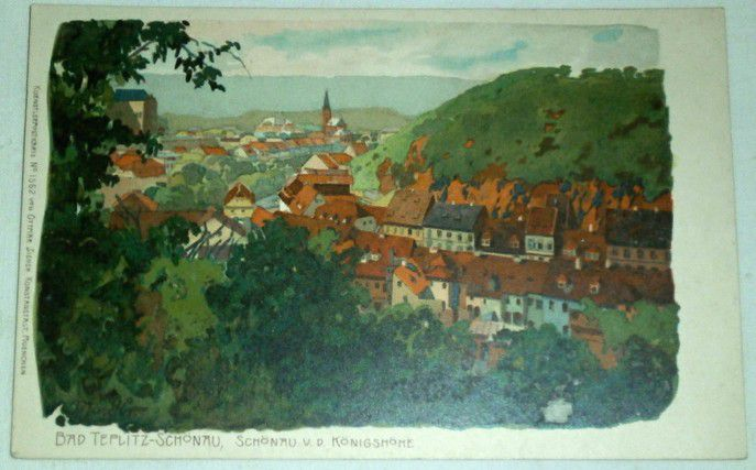 Bad Teplitz-Schönau, Schönau v. d. Königshöhe