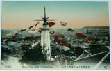 Japonsko Yokohama - Bird´s Eye View cca 1900