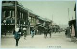 Japonsko Yokohama - Yoshidamachi-dori cca 1910