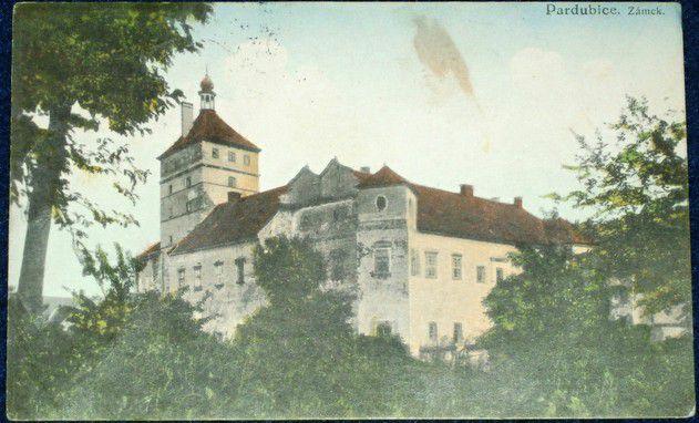 Pardubice zámek 1939