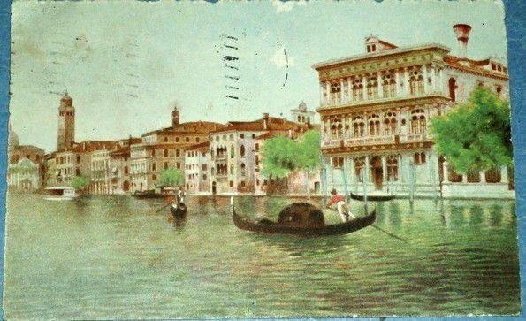 Benátky - Venezia Canal Grande Palazzo Vendramin