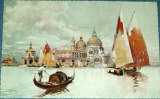 Benátky - Venezia - Chiesa della Salute cca 1920
