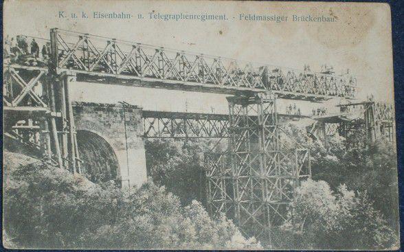 K.u.k Eisenbahn u. Telegraphenregiment - Feldmässiger Brückenbau