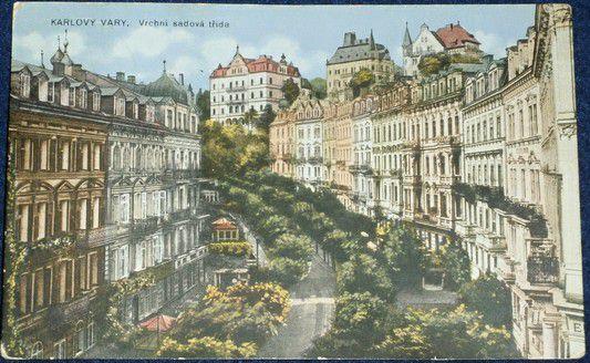Karlovy Vary - Vrchní sadová třída